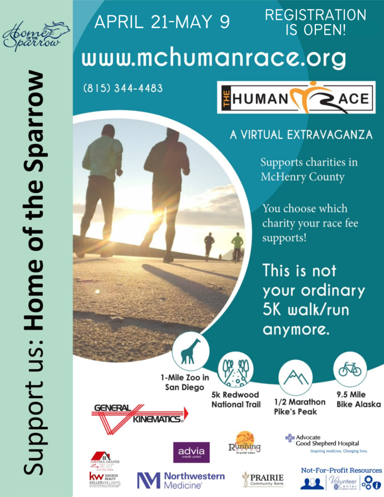 Virtual McHenry County Human Race
